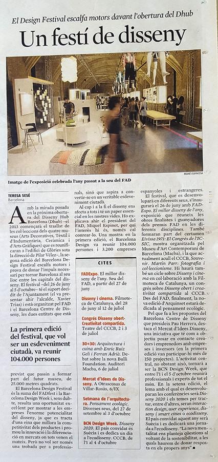 La Vanguardia 26Juny 2012